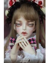 Hilo Doll Leaves DS 1/4 MSD size girl doll 43cm size bjd