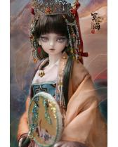 Ming Hai Chinese Ancient style AS-DOLL 1/4 size girl doll 44...