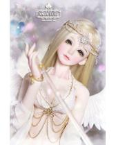 Phoebe white angel wings XAGADOLL 1/3 size girl doll 65cm SD...