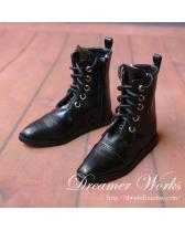 black army boots【Dreamer Works】for bjd SD/MSD SD17 ID 1/3 1/...