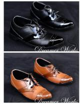 suit shoes 2 colors【Dreamer Works】for bjd SD/MSD SD17 ID 1/3...