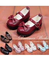 6 colors bowknot school shoes【Dreamer Works】for bjd SD MSD Y...