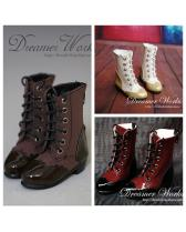 3 colors Lace Up boots【Dreamer Works】for bjd SD MSD 1/3 1/4 ...