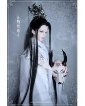 Weiyuejin open eyes fox Chinese ancient Telesthesiadoll TD B...