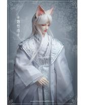 Weiyuejin sleeping eyes fox Chinese ancient Telesthesiadoll ...
